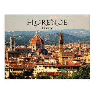 Carte Postale Florence