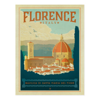 Carte Postale Florence, Italie