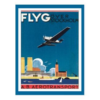 Carte Postale FLYG Stockholm Suède