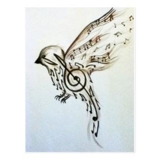 Carte Postale Flys de musique