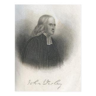 Carte Postale Fondateur de méthodiste de John Wesley