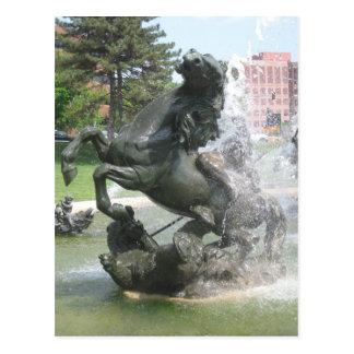 Carte Postale Fontaine de Kansas City