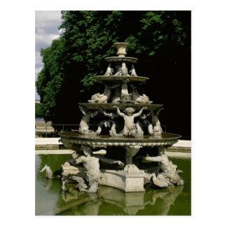 Carte Postale Fontaine de la Pyramide