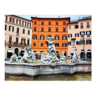 Carte Postale Fontaine de Neptune