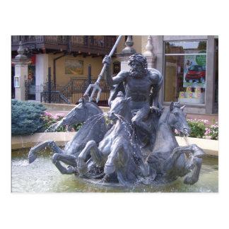 Carte Postale Fontaine de Neptune à Kansas City