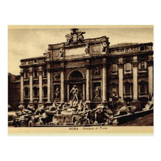 Carte Postale Fontaine de TREVI de Roma
