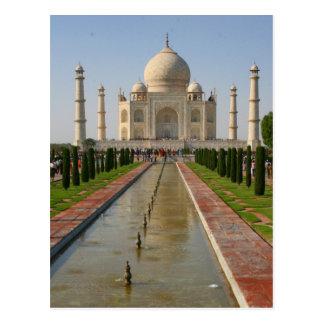 Carte Postale fontaine du Taj Mahal