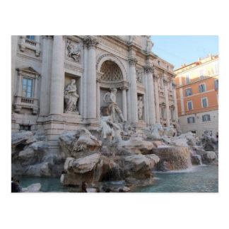 Carte Postale Fontaine Rome, Italie de TREVI