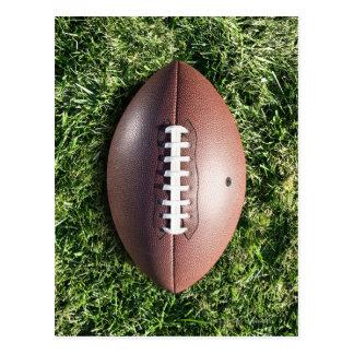 Carte Postale Football américain sur l'herbe