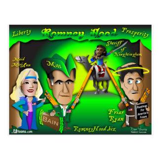 Carte Postale Forêt de capot de Romney