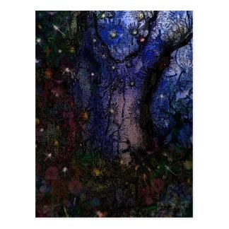 Carte Postale Forêt enchantée