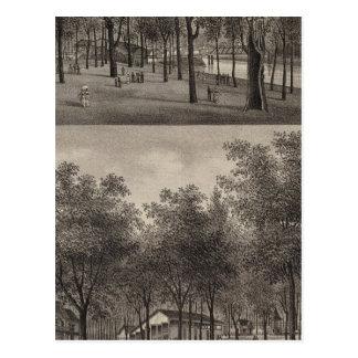Carte Postale Forêt. Parc, Ottawa, le Kansas