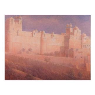 Carte Postale Fort ambre Jaipur