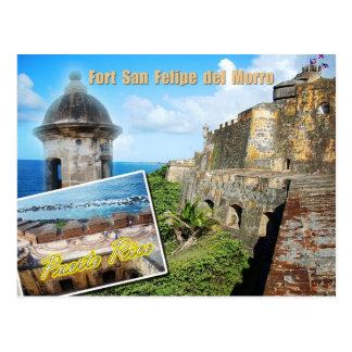 Carte Postale Fort San Felipe del Morro, Porto Rico