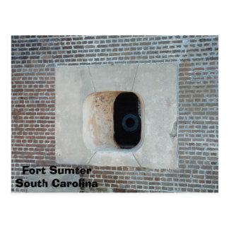 Carte Postale Fort Sumter
