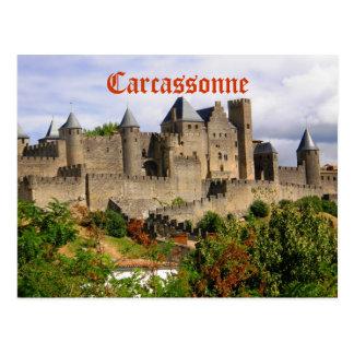 Carte Postale Forteresse de Carcassonne en France