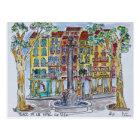 Carte Postale Fountain Place de L'Hotel De Ville