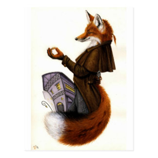 Carte Postale Fox-Trotte