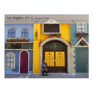 Carte postale fraîche de cour de St Vincent de Los