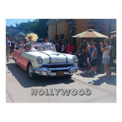 Carte postale fraîche superbe de Hollywood !