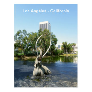 Carte postale fraîche superbe de Los Angeles !