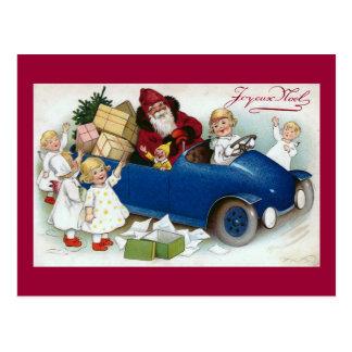 """Carte Postale Français vintage de """"Joyeux Noel"""""""