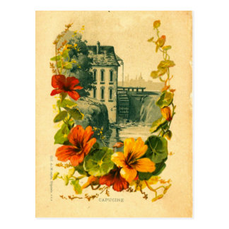 Carte postale française vintage