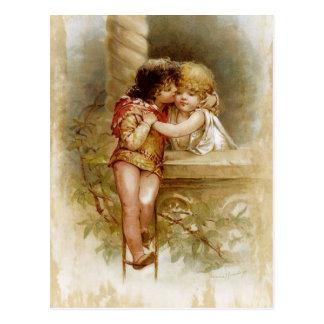 Carte Postale Frances Brundage : Romeo et Juliet