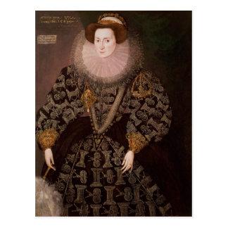 Carte Postale Frances Clinton, Madame Chandos, 1589