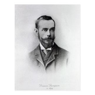 Carte Postale Francis Thompson, gravé par le marcheur d'émeris,