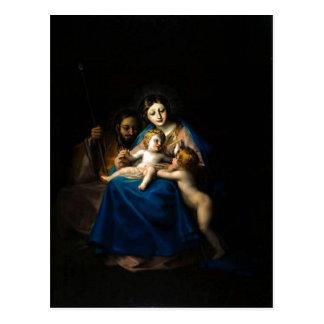 Carte Postale Francisco de Goya Sagrada Familia 1788 -