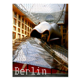 Carte Postale Frank Gehry à Berlin, Allemagne