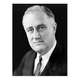 Carte Postale Franklin Delano Roosevelt