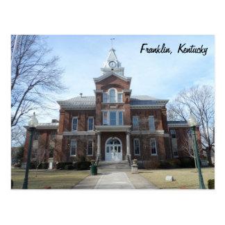 Carte Postale Franklin, Kentucky