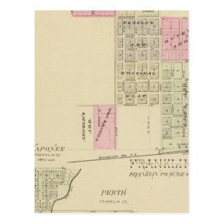 Carte Postale Franklin, Nébraska