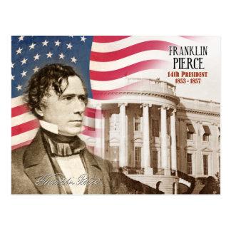 Carte Postale Franklin Pierce - 14ème président des États-Unis