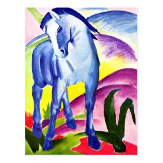 Carte Postale Franz Marc - cheval bleu I