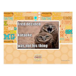 Carte Postale Fred a décidé