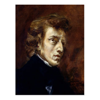 Carte Postale Frederic Chopin 1838