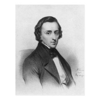 Carte Postale Frederic Chopin, après Ary Scheffer