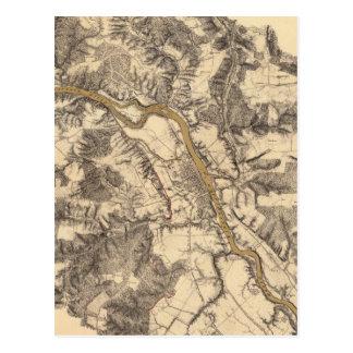 Carte Postale Fredericksburg, la Virginie