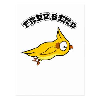 Carte Postale free bird