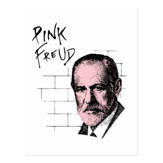 Carte Postale Freud rose Sigmund Freud