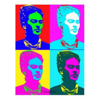 Carte Postale Frida Kahlo a inspiré le portrait