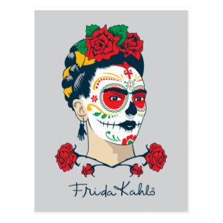 Carte Postale Frida Kahlo | El Día de los Muertos