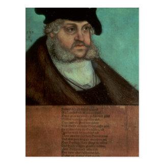 Carte Postale Friedrich III, le sage, électeur de la Saxe