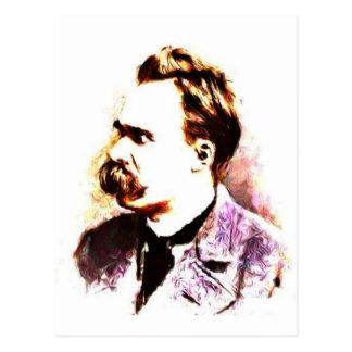 Carte Postale Friedrich Nietzsche