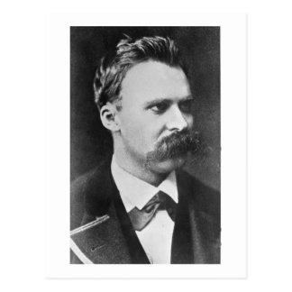 Carte Postale Friedrich Wilhelm Nietzsche (1844-1900) 1873 (b/w