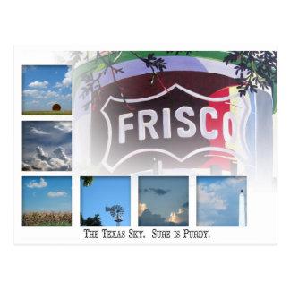 Carte Postale Frisco, le Texas