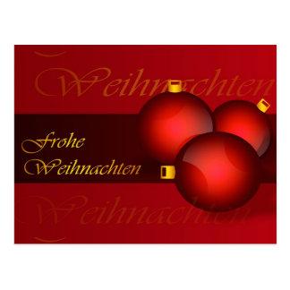Carte Postale Frohe Weihnachten